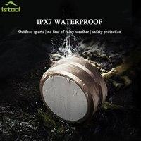 JKR 5 IPX7 Waterproof TWS True Wireless Stereo Mini Bluetooth HiFi Speaker Portable Subwoofer Boombox Support