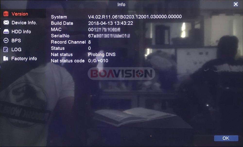 52 в H.265 4CH/8CH 4MP 5MP POE CCTV NVR P2P сетевой видеорегистратор для POE ip-камер охранного видеонаблюдения приложение XMEYE