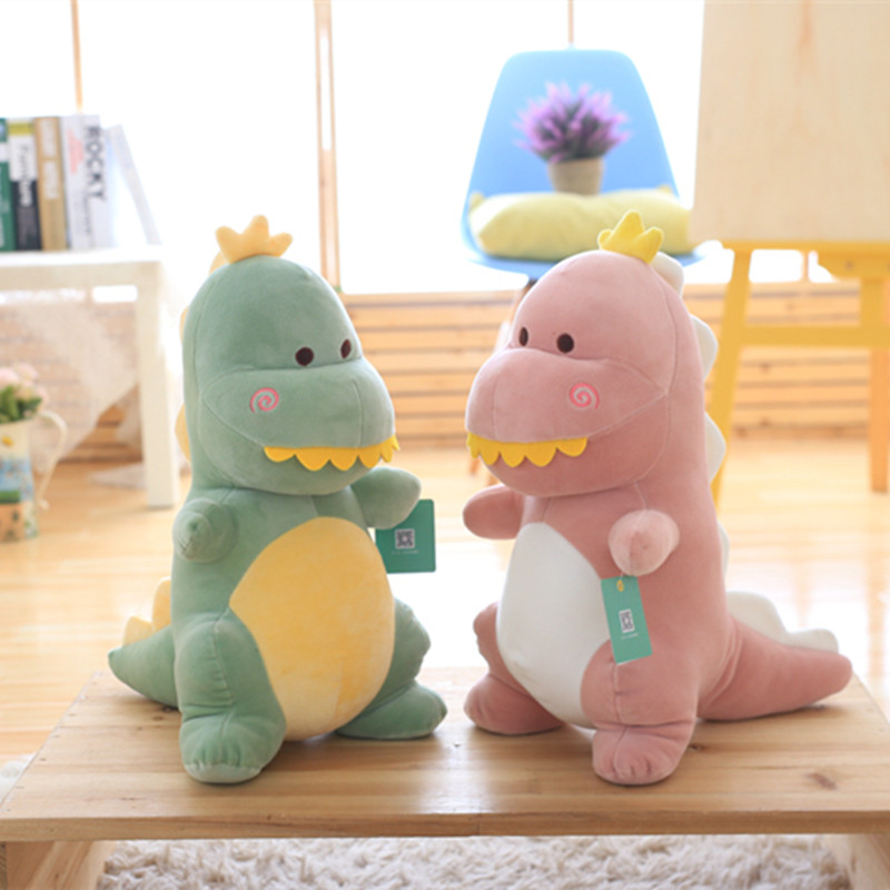 1pc 30cm Staffed Dinosaur Plush Toy Cute Soft Down Cotton Animal Doll for Kids Kawaii Toy Lovely Christmas Gift for Children 1pc 50 85cm 3 colors cute lying down french bulldog plush stuffed toy doll model soft cotton dog pillows baby kids birthday gift