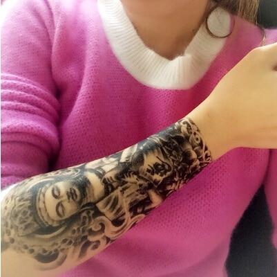 2015 Brazalete Tatuaje Temporal Misterioso Buda Impermeable