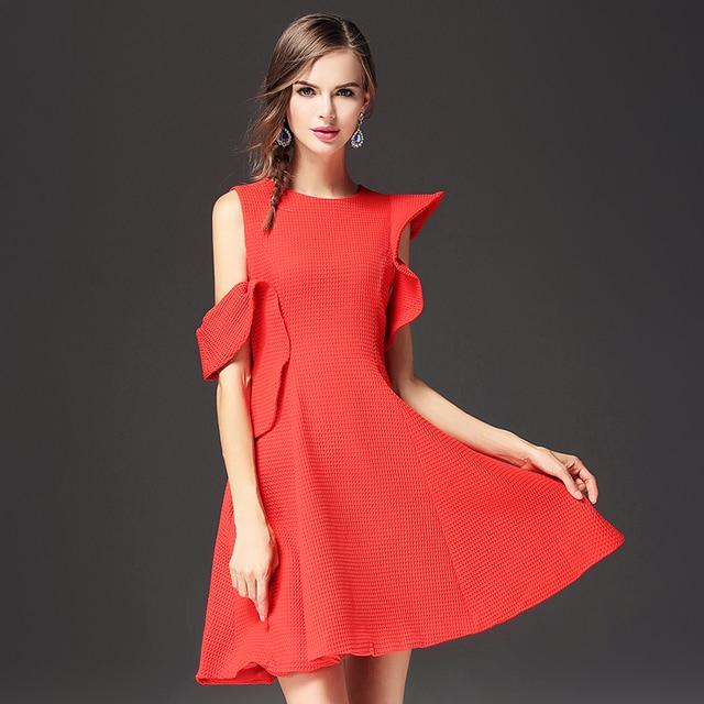 87aaa484efb3 Mujeres de la manera Un Hombro Frío de Noche Vestidos Del Partido Vestidos  de Las Señoras