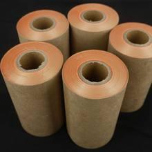 Новая золотая фольга в рулоне, ширина 10-150 мм, имитация золотых листьев, декоративный материал, золотые листья