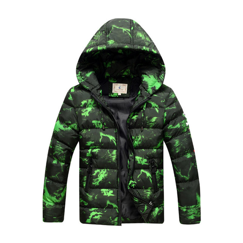 New Big Boys Parka Jackets Thick Warm Childen Winter Jackets Hooded Kids Outerwear Coat RT229 new men s military style casual fashion canvas outdoor camping travel hooded trench coat outerwear mens army parka long jackets