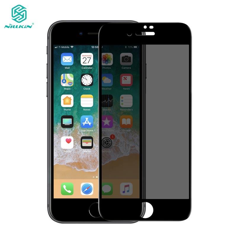 Para el iPhone 8 Plus vidrio NILLKIN 9 H 3D Protector antideslumbrante de la pantalla para el iPhone 8 más 7 7 más vidrio templado de protección