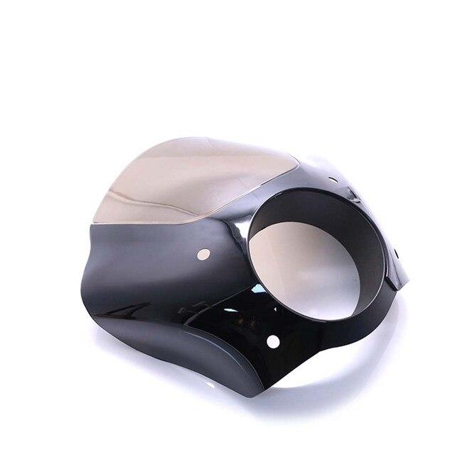 Pare-brise de carénage de phare de moto pour Harley Sportster 1200 Nightster XL1200N Roadster XL1200R 883 Low Deluxe XLH883
