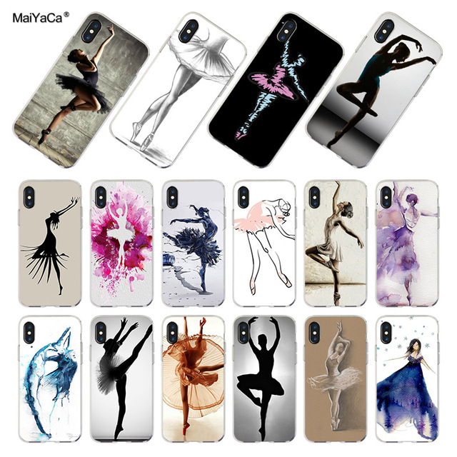 coque iphone 8 chaussons de danse