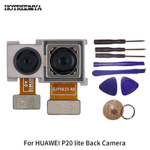 P20 lite Back Camera For Huawei P20 Lite  Big Facing Rear Main Camera Module Flex Cable Replacement Repair Part With Tool back camera for huawei honor 6x main back facing camera module for honor 6x cell phone rear camera replacement parts