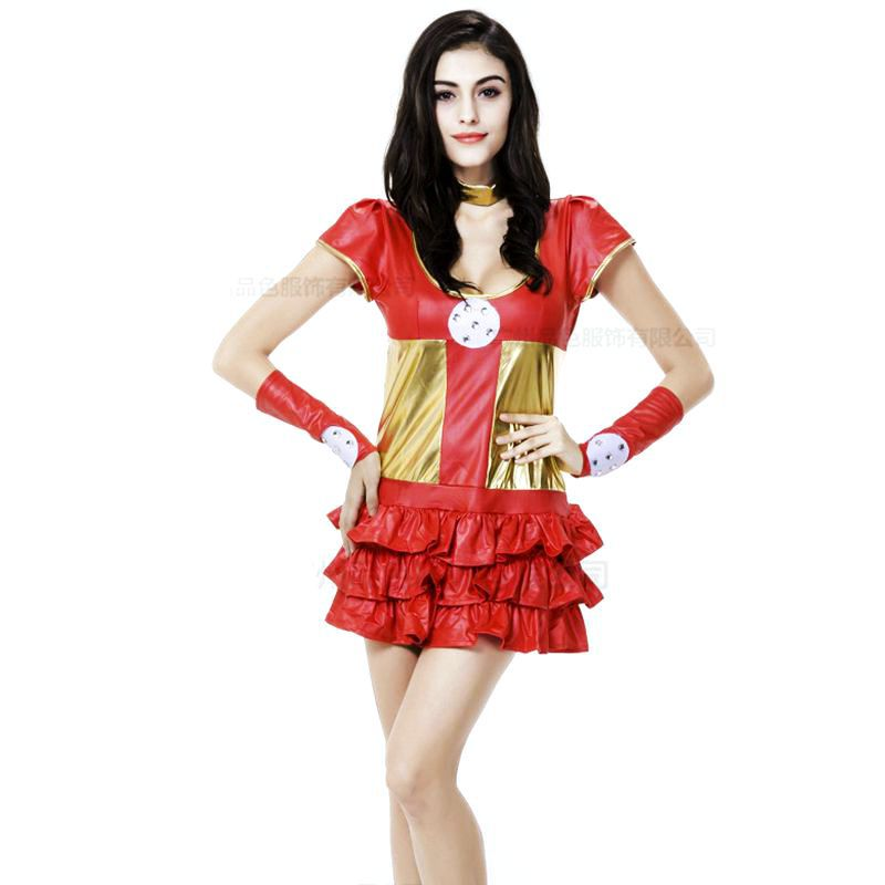 Wonder Woman Plus Size Corset Costume