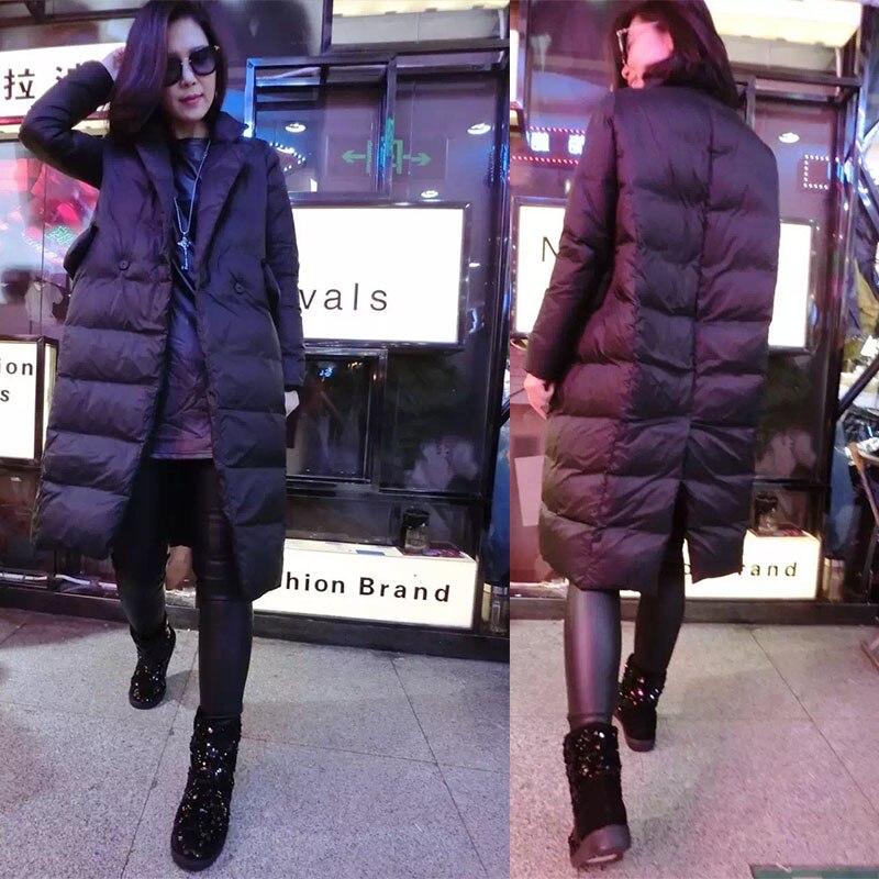Black Veste Femmes Le Long Mujer Lx143 2018 Coton Européen Style Lâche Bas Automne Ayunsue Rembourré Vers Ouatée Abrigos Chaud Manteaux Nouveau Ang6p5Rw