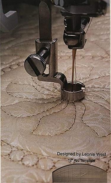 "1//4/"" RULER FOOT Frame Quilting Embroidery High Shank JUKI Singer Pfaff Baby Lock"