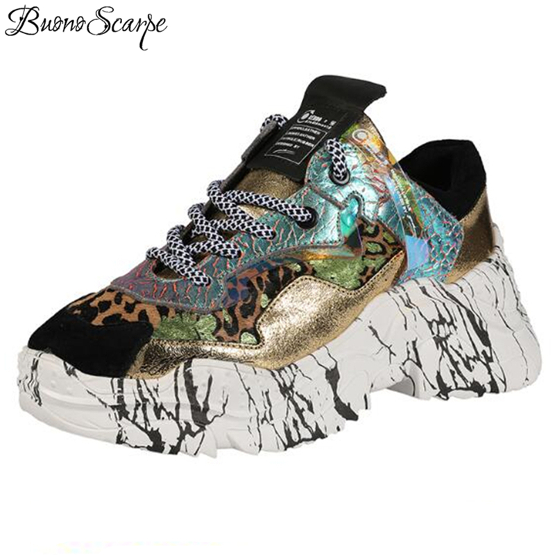 High Quality Women Platform Sneakers Shoes Matching Camouflage Sneakers Horse Hair Thick Sole Women Sneakers 2019