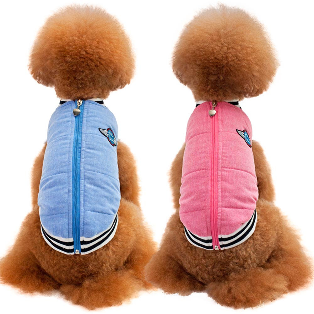 Small Dogs Costume Clothes For Little Dogs Overalls Fashion Thick Pet Dogs Mini Baseball Cotton Clothes Coat Puppy Dogs Costume