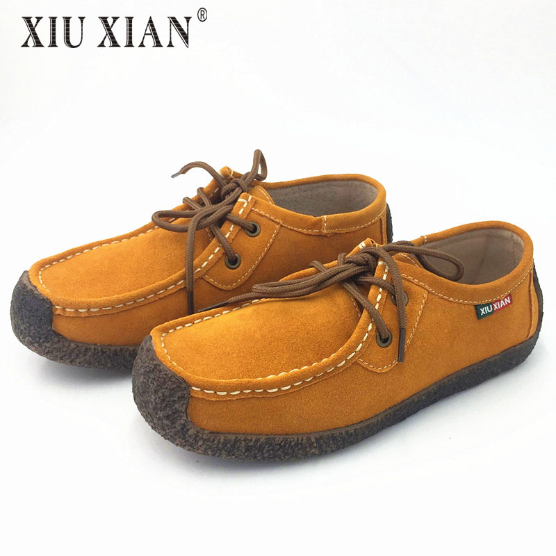 High Quality Men Soft Loafer 100 Genuine Leather Mens Leisure Flats Spring Blue Brown Casual Shoes