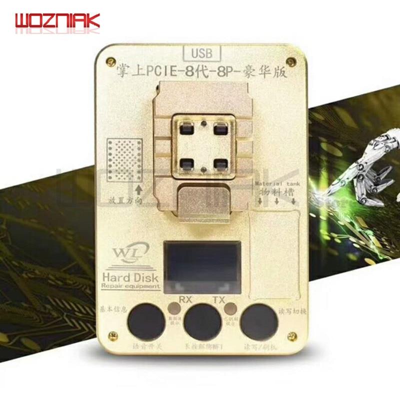 Wozniak WL PCIE NAND Programmeur pour iPhone x 8g 8 p 7 p 7 6SP ios11 HDD Numéro de Série SN Outil POUR IPAD Pro Programmeur