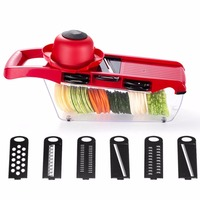 WNL QCQ Manual Vegetable Cutter Multifunctional Slicer Carrot Grater Potato Cutter Fruit Vegetable Tools Kitchen Accessories