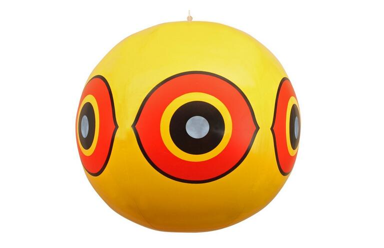 US $11 93 23% OFF|Bird Repellent Scary Eye Balloons Bird scarer Stops Pest  Bird Problems Fast  Reliable Visual Deterrent Yellow color-in Repellents