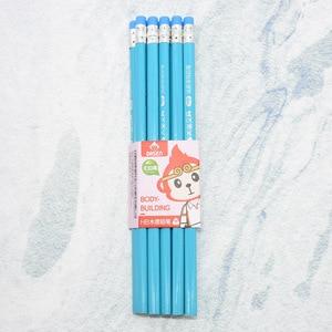 Image 5 - 100 قطعة HB القياسية مثلث قلم رصاص الرسم المهنية جودة خشبية قلم رصاص طالب المدرسة هدية