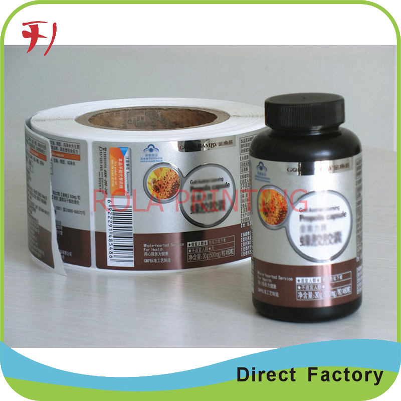 High quality oem printing adhesive matt laminated vinyl label custom electric product label printing in stationery sticker from office school supplies on