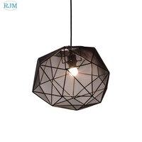 Скандинавские спальни простые подвесные светильники Современный Креативный дизайн с одной головкой теплые висячие лампы для ресторана Го