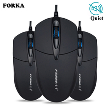 Newest USB Wired Computer Mouse Silent Click LED Optical Gamer PC Laptop Notebook Mice for Office Home Use