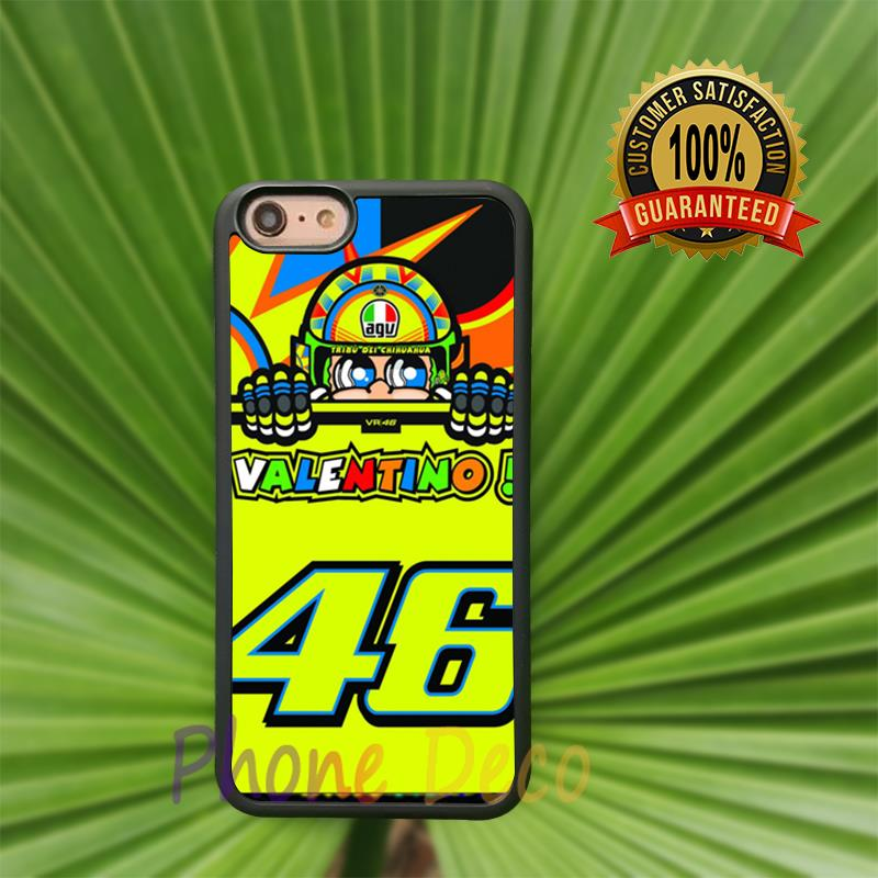 rossi vr46 fashion cell phone cases for iphone 4 4s 5 5s 5c 7 7 plus 6 6s 6plus 6splus B1667