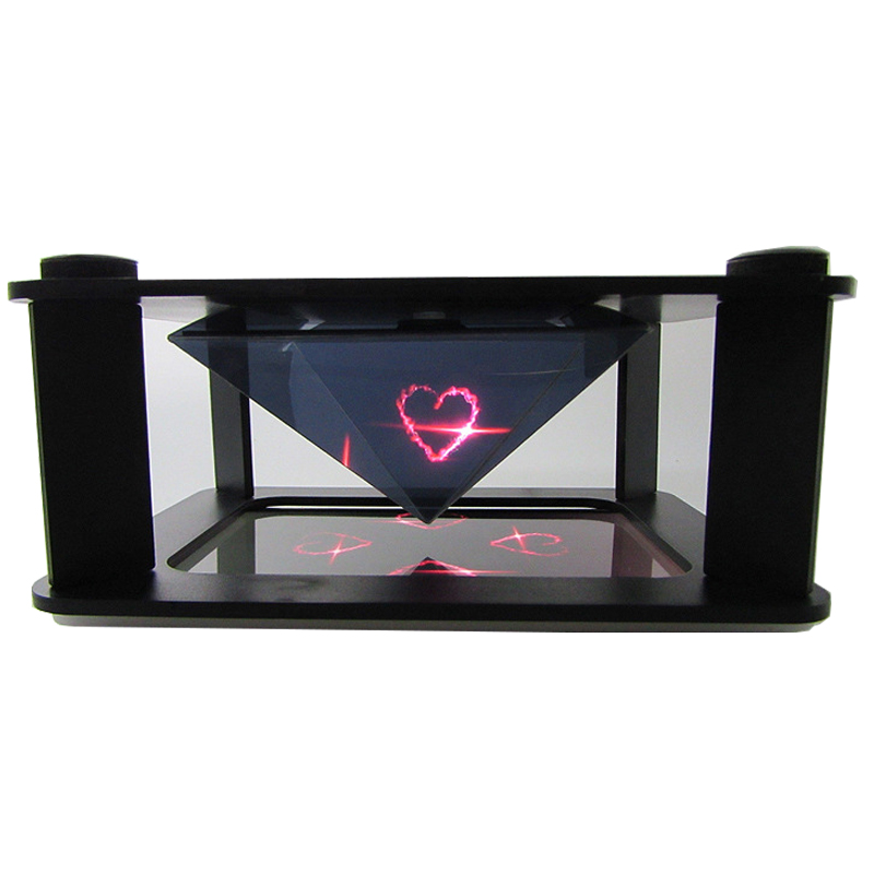 Holografiske mobiltelefoner 3D Holographic Projection Pyramid DIY for 3,5 til 6,0 tommer iPhone smartphone Hatsune MV Projector