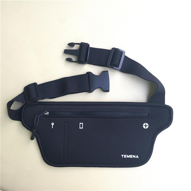 TEMENA Men Women Running Waist Belt Bag Phone Holder Jogging Belly Fanny Packs Gym Fitness Bags Sport Running Accessories 12