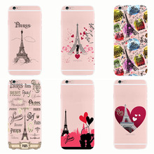 Fashion Paris Eiffel Tower Pattern soft silicon case cover For iPhone 11 6 6S 7 8 plus 5S SE X Max XR XS 11 PRO eiffel tower pattern plastic back case for samsung i9500 light green