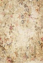 Foto do casamento fundo do estúdio de pano de parede de vinil de Alta qualidade da Pulverização Pintado Retro Vintage Marrom Flor de Tecido pano de fundo