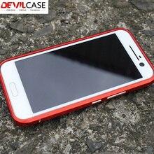 Devilcase для HTC 10 металлический бампер ультра тонкий защитный случаях ЧПУ вырез для HTC 10 Новинка