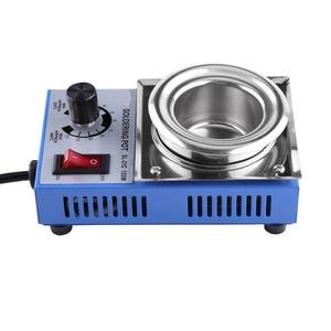 Image 3 - ST 21C 220V 150W Solder Pot Soldering Desoldering Bath 50mm 200 450℃ Adjustable Stainless Steel Soldering Melting Stove Tin Pot