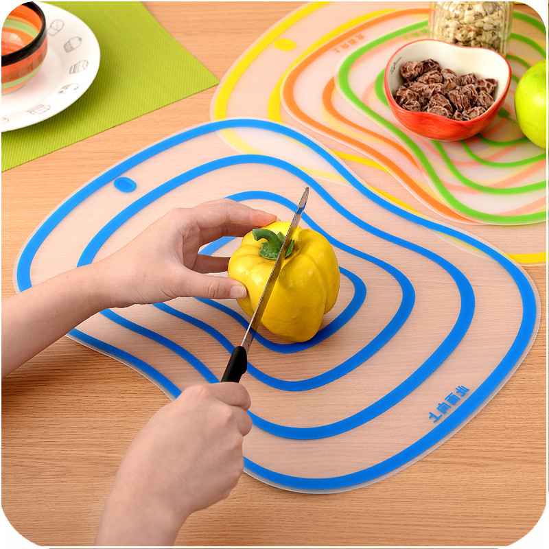 Multicolor Portable Cutting Board Chopping Block Ultra Thin Non Slip  Frosted Anti Bacterial Chopping Block Kitchen Supplies In Chopping Blocks  From Home ...