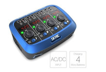 Бесплатная доставка Skyrc Quattro Зарядное устройство разрядник для Losi микро MX mcpx Батарея 4×1 ячейка