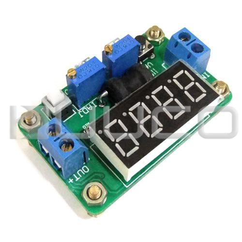 20W Power Supply Module/Adapter DC 4.5~24V to 0.93V~20V 2A Adjustable Regulator DC 5V 12V Power Converter/Driver + Digital Meter wholesale 1pcs dc dc step up converter boost 2a power supply module in 2v 24v to out 5v 28v adjustable regulator board dropship
