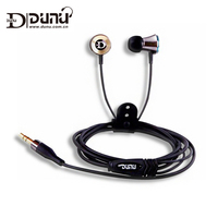 DUNU DN 12 DN12 T Rident Metal Full Range Noise Isolation In Ear Earphones