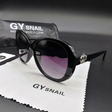 GYSNAIL new Sunglasses Women UV400 Elegant Rhinestone Ladies Sun Glasses Female Sunglasses Oculos De Sol BENZEN Shades With Case