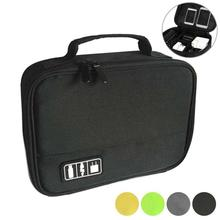 1PC New Portable Digital Accessories Gadget Devices Organizer USB Cable Charger Tote Case Storage Bag Travel