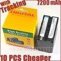 7200 mAh NP-F970 NP F970 F770 F570 F930 for SONY MC1500C 190 P 198 P F950 MC1000C HD1000C V1C Z5C Z7C PD198P 150 P LED