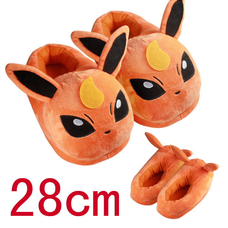 Costumes & Accessories Huolun New Winter Home Cotton Warm Plush Slippers Cute Cartoon Pokemon Pocket Monster For Pikachu Lovers Shoes Novelty & Special Use