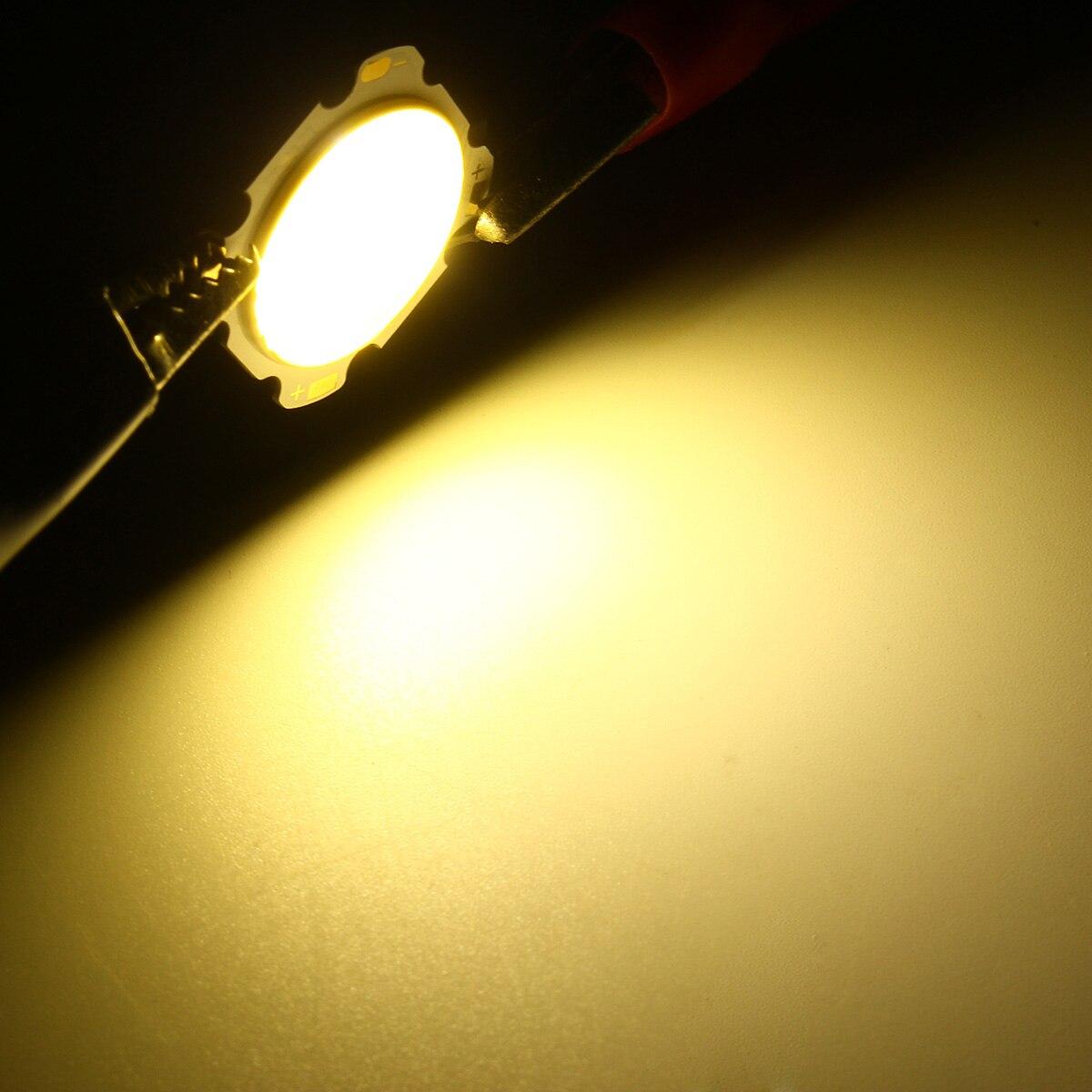 3W High Power DIY LED COB Light Beads LED lamp Bead LED Bulb Chip Spot Light Downlight Diode Lamps DC9-12V