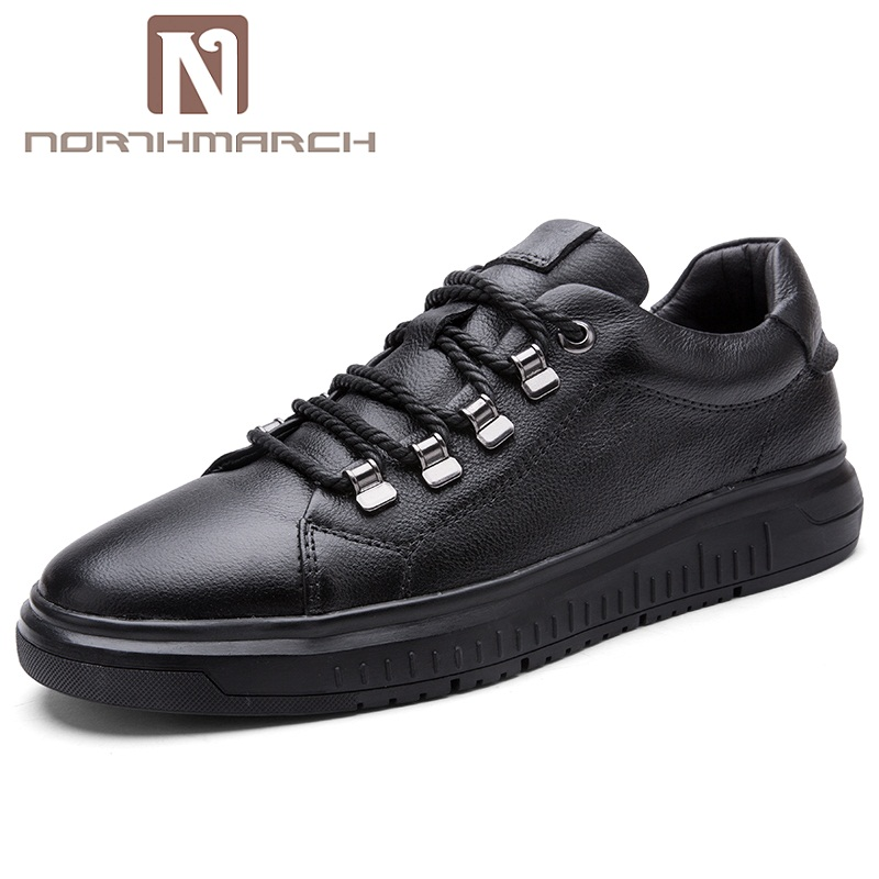 NORTHMARCH Spring Summer Genuine Leather Men Shoes Men Casual Shoes Breathable Sneakers Zapatillas Deportivas Men Flats Shoes zapatillas deportivas limited 2016 new medium b m genuine leather men s casual shoes men autumn tide brand free shipping