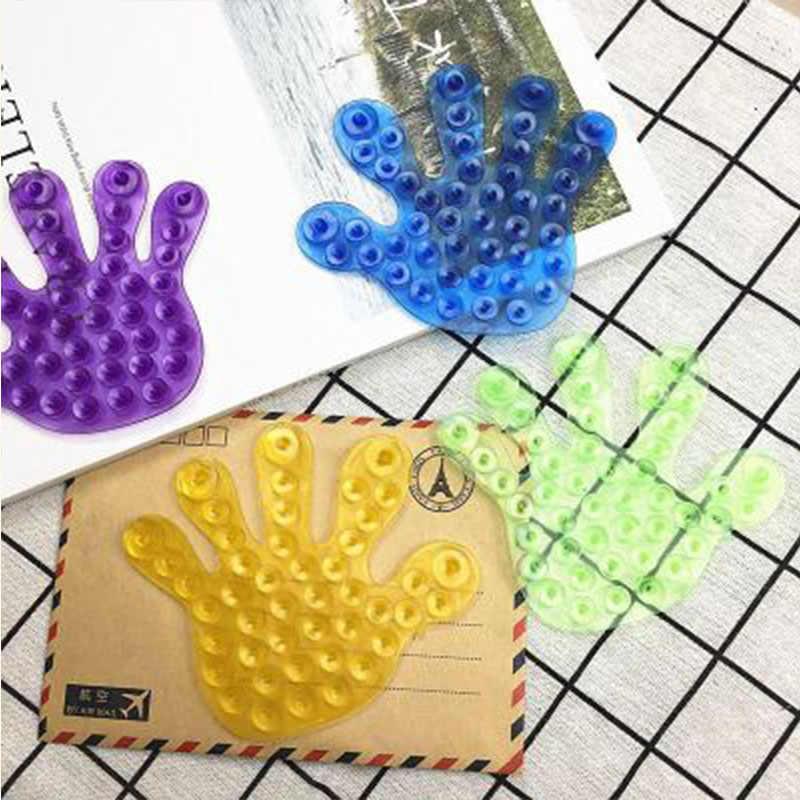 Lato losowo stylu Cartoon Babys zabawki do kąpieli dwustronne miejsca Sucker magia frajerów dzieci zabawki wodne do łazienki Suctions Up zabawki