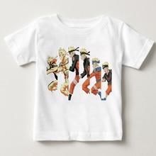 Children Ninjia Naruto T-Shirt Anime T Shirt Akatsuki Kakashi Gaara Hokage Uchiha Itachi Sasuke Sharingan kids Tshirt YUDIE