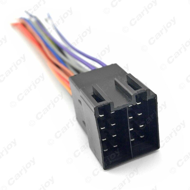 leewa 10pcs universal female iso radio wire wiring harness adapter rh aliexpress com Sony Car Stereo Wiring Adapter Freestar Wiring Harness Adapters for Stereo