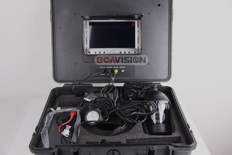 """"""" TFT lcd монитор 650TVL камера подводное рыбопоисковое устройство видео камера система HD 50 м кабель рыболовные снасти инструмент Поворот 360 градусов"""