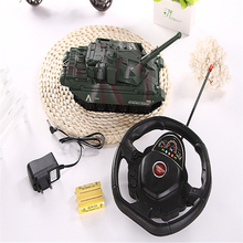 Four-channel Electric Remote Tank  Toys RC Tank 1 Piece