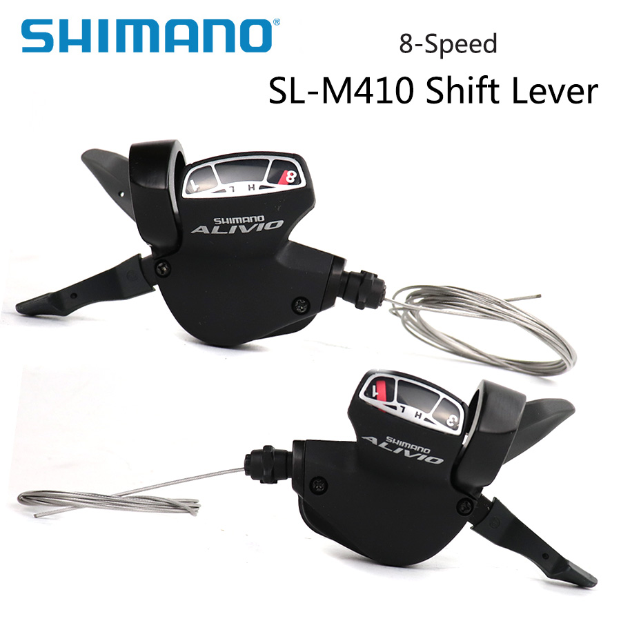 Shimano Alivio Derailleur Sl M410 24s Speed Shifter Lever Trigger Switch 3x8s Left Right Shift Cable Mtb Bike Bicycle Parts Sports & Entertainment