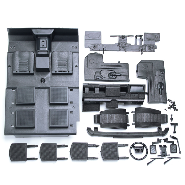 Nueva Llegada Austar RC Crawler D90 Plástico Duro Blanco Cáscara Del Coche Kits