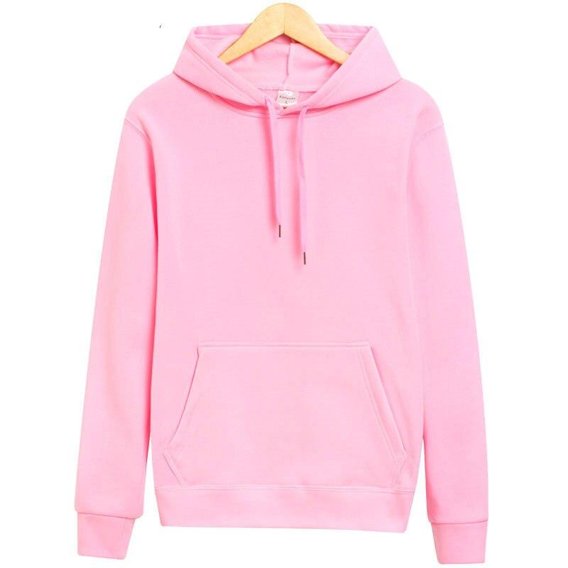 Cncool Hot Sale Hoodie Streetwear Male Hip Hop Solid Pink Black gray Hooded Hoody Mens Hoodies And Sweatshirts Size To XXL