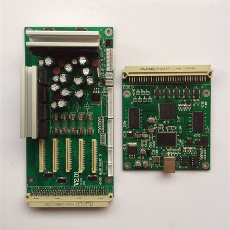 Xenons X3A-7407ASE Eco-solvent Printer DX7 Print head MainBoard A+B